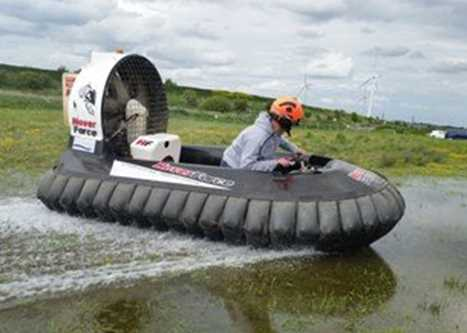 Hovercrafting Liverpool stag weekend